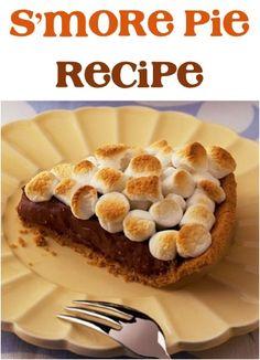 S'more Pie Recipe!