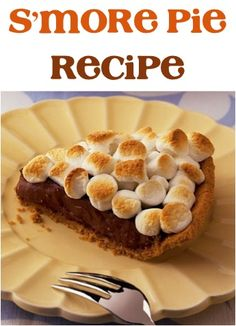 S'more Pie Recipe!