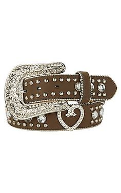 Blazin Roxx® Ladies Rhinestone Western Belt N3511844 | Cavender's Boot City $41.65