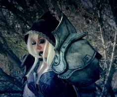 Handmade Sylvanas Windrunner Cosplay by myself. Photography by my sister. Diablo III style left shoulder pauldron. As a first time cosplayer and fabricator I'm happy with the way this turned out.