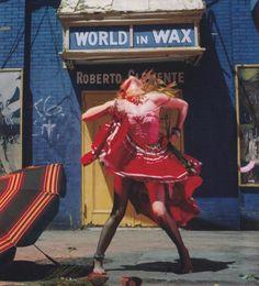 Cyndi Lauper photographed by Annie Leibovitz, 1983.