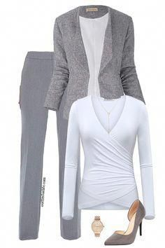 Update your work wardrobe for half the price and half the hassle! Visit for links to find each item pictured and for the easiest outfit inspo you can find! Classy Fall Outfits, Fall Outfits For Work, Casual Work Outfits, Business Casual Outfits, Office Outfits, Work Attire, Simple Outfits, Outfit Work, Office Attire
