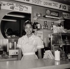 """Helen Ann Smith at Harlem House, Beale St, Memphis, TN, 1950s.  Ernest C. Withers—Collection of the Smithsonian National Museum of African American History and Culture, © Ernest C. Withers Trust  (LIFE).  From the upcoming Smithsonian photo book African American Women. """"We made a point of choosing images of people who aren't famous,"""" says Michèle Gates Moresi, the [National Museum of African American History and Culture]'s supervisory curator of collections. """"They aren't known as leaders…"""