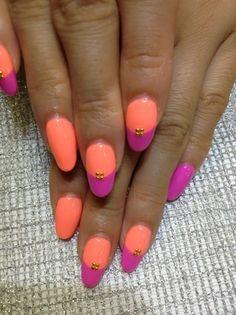 Bright Colored Nails!