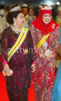 Queen of Malayasia and Queen of Brunei