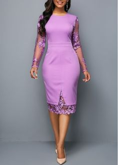 Cheap sexy club party dresses Dresses online for sale African Fashion Dresses, African Dress, Dress Fashion, Fashion Fashion, Marine Uniform, Frack, Spandex Dress, Purple Dress, Dresses Online