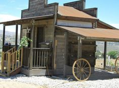 Fantastic Old West Saloon Hen House! Great idea! #HenHouse www.FreeHenHousePlans.net