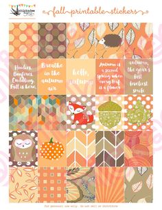 FREE bonus!} EDITABLE October Printable Planner Side Bars Assortment with To Do…