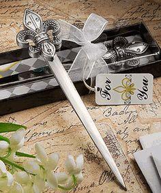 Exquisite Fleur de lis Letter Openers