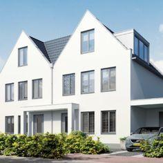 Wilnis Wit | House Blanc | Architecture by Jan des Bouvrie | #wilnis #demaricken #house #villa #thenetherlands