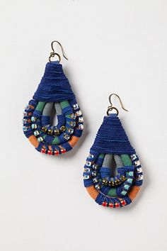 Topkapi Bound Earrings #anthropologie
