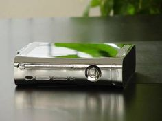 XCM full replacement case for the Xbox 360 (Chrome)