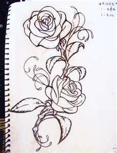 Rose Tattoos Tattoo Pictures Design-one for Jordan and one for Aubrey! Love it