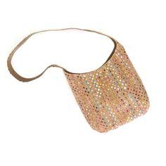 Sling Bag in Sequin Cork