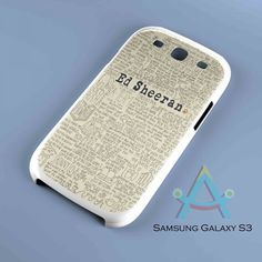 Ed Sheeran Quote Custom Case fits for Samsung Galaxy S3 by http://ahhastudio.ecrater.com/p/21514626/ed-sheeran-quote-custom-case, $16.99