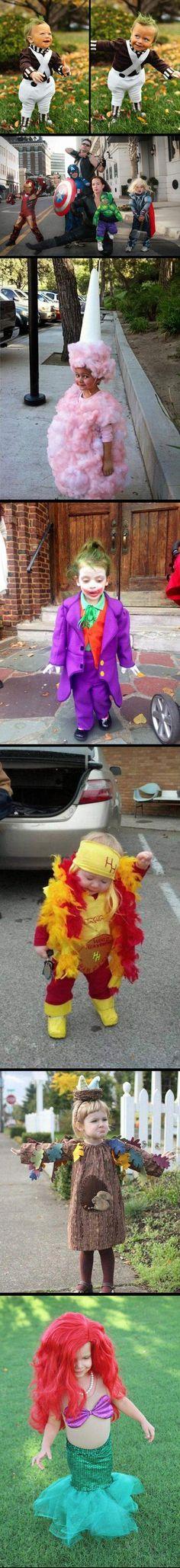 funny kids Halloween costume avengers