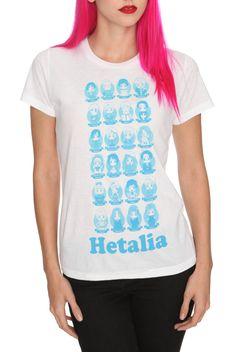 Hetalia: Axis Powers Chibi Girls T-Shirt | Hot Topic