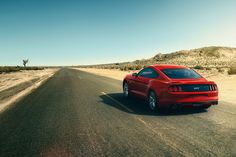 Skip the straight and narrow.  The 2017 Ford Mustang features an integral link independent rear suspension that helps minimize body roll and isolate road imperfections for a responsive ride and precise handling. Aluminum-alloy rear knuckles and H-arms help reduce unsprung mass. So Mustang has twice as much anti-squat and nearly 10 times the amount of anti-lift for better pitch control during hard acceleration and braking compared to the previous generation.