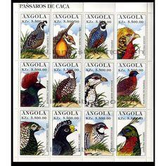 SELLOS DE ANGOLA 1997 - TRENES Y LOCOMOTORAS DEL MUNDO - 4 VALORES - CORREO