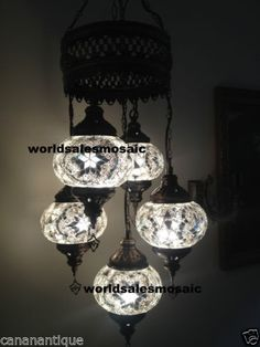 5-ball-110-240v-TURKISH-MOROCCAN-HANGING-GLASS-MOSAIC-CHANDELIER-CANDLE-LAMP
