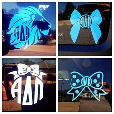 Alpha Delta Pi Decals
