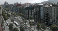Barcelona Cityscape by atomhawk on DeviantArt