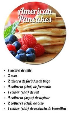 15 Fun Dinner Recipes To Make With Friends - HomelySmart American Pancakes, Yummy Food, Tasty, Brunch, No Cook Meals, Food Hacks, Love Food, Sweet Recipes, Vegetarian Recipes