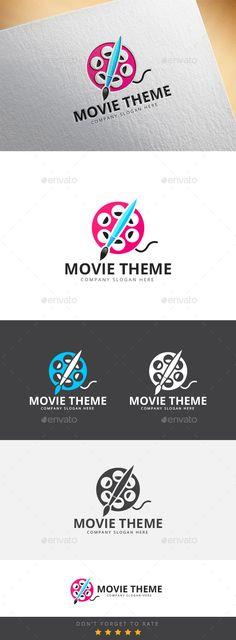 Movie Theme Logo