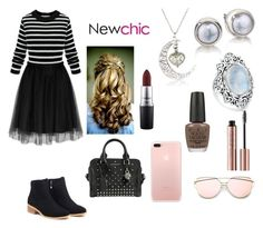 """""""Day out (#newchic #)"""" by jadahoran123 ❤ liked on Polyvore featuring Alexander McQueen, MAC Cosmetics, Bling Jewelry, OPI, chic, New and newchic"""