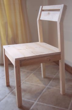 Ana White | Build a Modern Angle Chair | Free and Easy DIY Project and Furniture Plans
