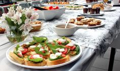 #PartyPlan – Sunday Funday Brunch! | Social and Style - Caprese Salad