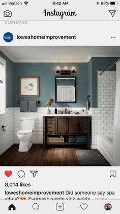 Bad Kleine Badezimmer Design-Ideen Badezimmer A New Way To Lose Weight Revealed By Ladies Of Bathroom Design Small, Diy Bathroom Decor, Bathroom Renos, Bathroom Colors, Bathroom Interior Design, Bathroom Renovations, Modern Bathroom, Master Bathroom, Bathroom Ideas