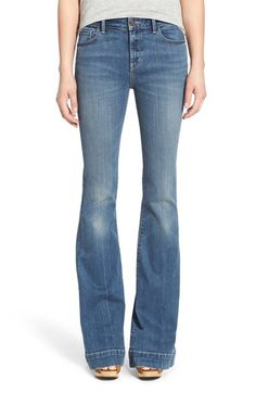 Treasure&Bond Flare Jeans (Mode Medium Vintage) available at #Nordstrom