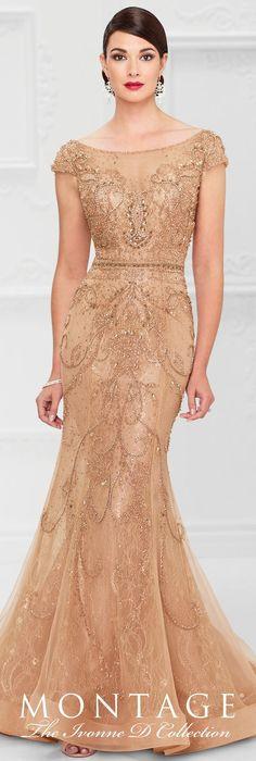 Evening Dress by Mon Cheri Bridals Spring 2017 | Wedding Guest Look