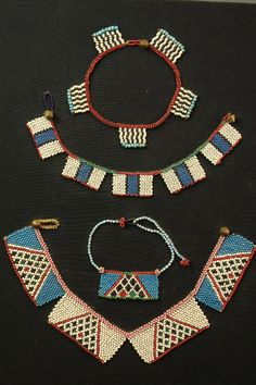 South Africa | Set of early Zulu beadwork items | ca. 1930s or early | 650£