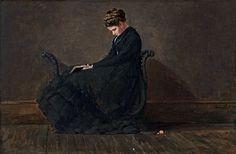 Winslow Homer, Portrait of Helena de Kay (ca. 1872).