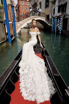 elegant sexy wedding dress julie vino spring 2018 fashion