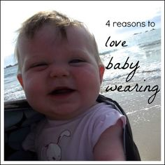 """{Mummyology} """"4 Reasons to Love Baby Wearing"""" (Share your comments on baby wearing!)"""