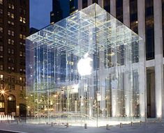 Apple Store, New York City, Fifth Avenue and Fifty-ninth Street