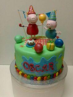 Tarta cumpleaños Pepa Pig