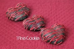 Chocolate Covered Strawberry Hearts: tutorial