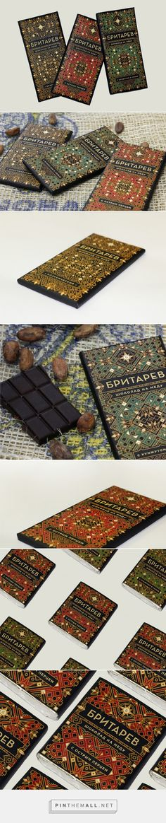 Britarev #Chocolate #packaging designed by Anna Ropalo - http://www.packagingoftheworld.com/2015/05/britarev-chocolate.html