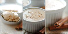 mleczny mus z kawą zbożową i cynamonem