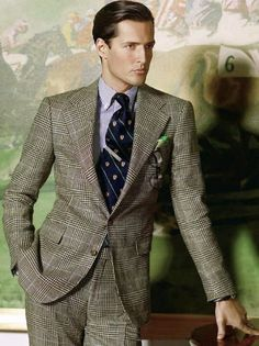 cargoblues:  Prince of Wales by Ralph Lauren