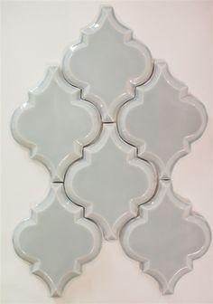 Beveled Arabesque Tile | Shore Thing