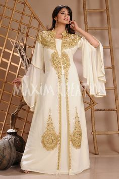 DUBAI VERY FANCY KAFTANS abaya jalabiya NEW Ladies Maxi Dress Wedding gown 3124 in Clothing, Shoes & Accessories, Women's Clothing, Dresses | eBay