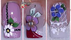 Nail Art Designs Videos, Nail Design Video, Nail Designs, Merry Christmas Gif, Cute Animal Photos, Flower Nails, Girls Be Like, Pedicure, Youtube