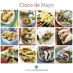 Cinco de Mayo fiesta food