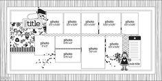 Nov 2014 layout sketch.... for 10 photos!