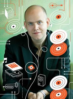 """Daniel Ek says his company is """"not in the music space—we're in the moment space."""""""